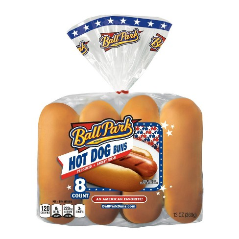Ball Park Hot Dog Buns 13oz 8ct Target