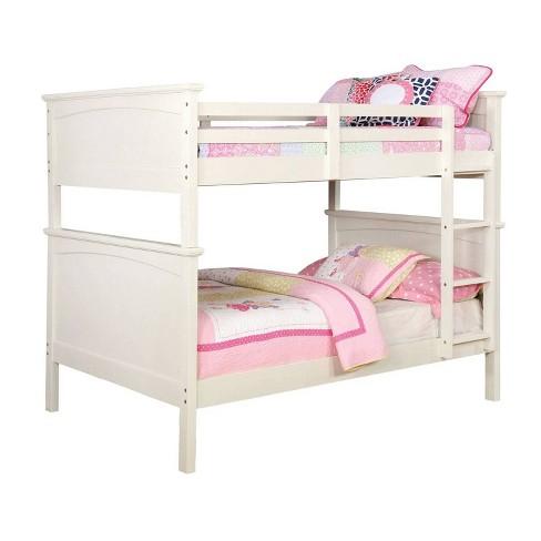Twin Over Full Gorman Kids Bunk Bed Dark Walnut - ioHOMES - image 1 of 4
