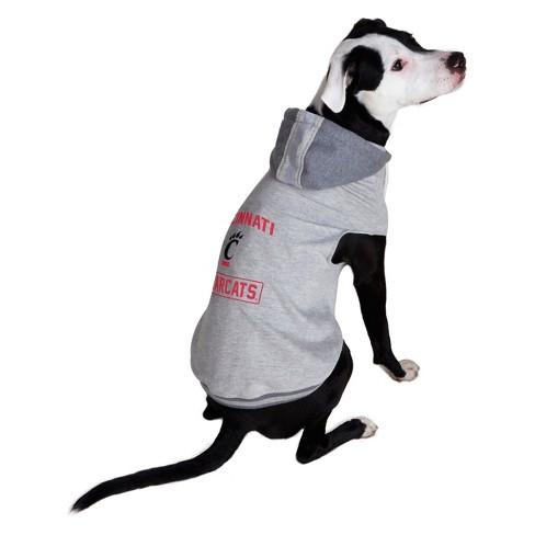 NCAA Little Earth Pet Hooded Crewneck Football Shirt - Cincinnati Bearcats - image 1 of 3