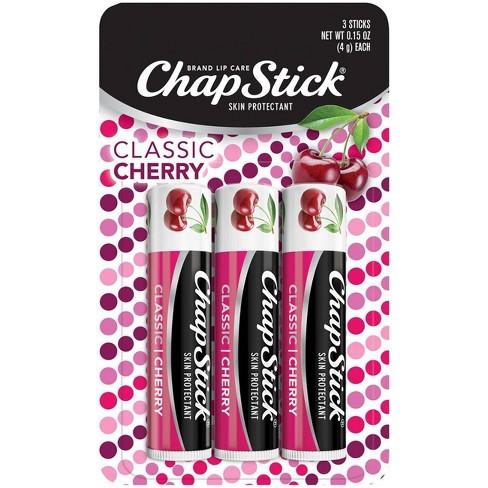 Chapstick Classic Lip Balm - Cherry - 3ct - image 1 of 4