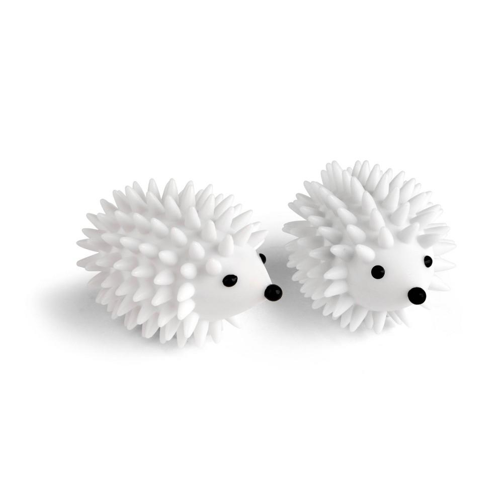 Image of Kikkerland Hedgehog Dryer Buddies White
