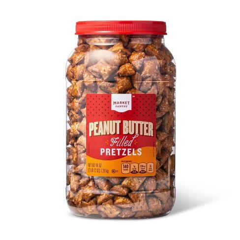 Peanut Butter Filled Pretzels - 44oz - Market Pantry™ - image 1 of 4
