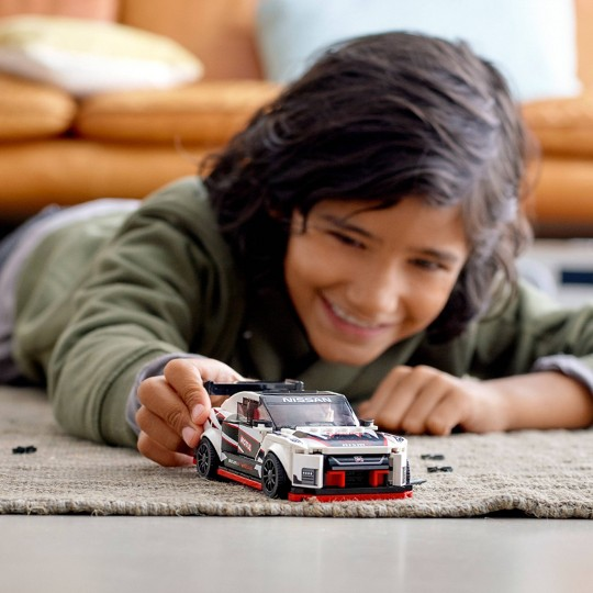 LEGO Speed Champions Nissan GT-R NISMO Building Kit 76896 image number null
