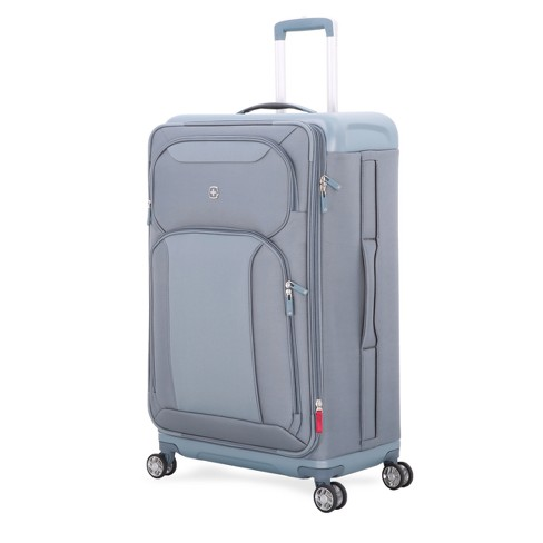 "SwissGear Tensilite Hardside 28"" Suitcase LED (Silver/Blue) - image 1 of 6"