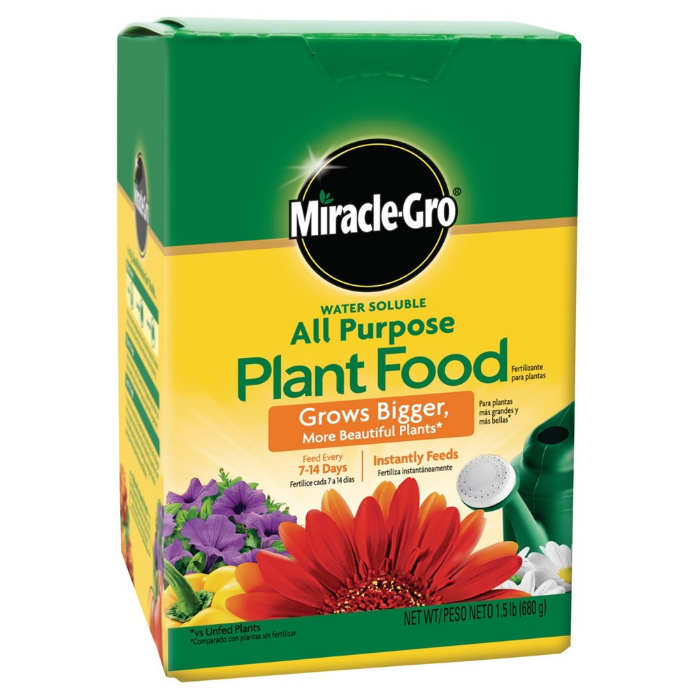 Image of Miracle-Gro Water Soluble All Purpose Plant Food 1.5lb