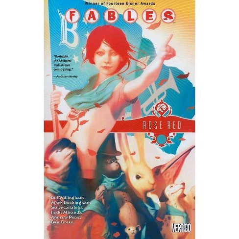 Fables Vol. 15: Rose Red - (Fables (Paperback)) by  Bill Willingham (Paperback) - image 1 of 1