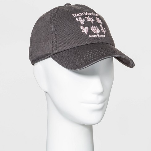 Mighty Fine Women's New Mexico Cactus Baseball Hat - Gray One Size - image 1 of 2