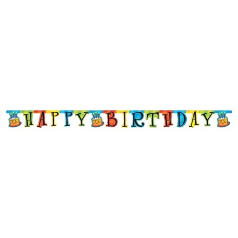 Happy Birthday Banner Target