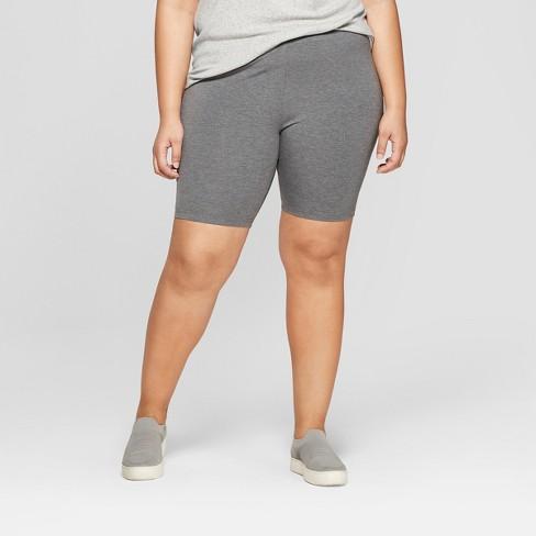 684df693de Women's Plus Size Bike Shorts - Ava & Viv™ : Target