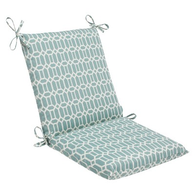 Pillow Perfect Outdoor Square Edge Full Seat Cushion - Rhodes
