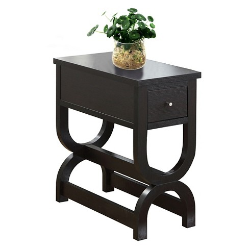 Accent Table with Drawer - Cappuccino - EveryRoom - image 1 of 2