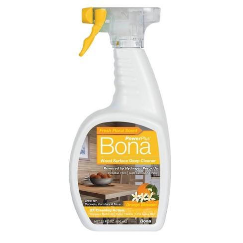Bona PowerPlus Wood Surface Deep Cleaner - Orange Blossom - 22 fl oz - image 1 of 4