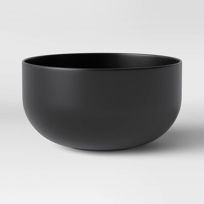 37oz Plastic Cereal Bowl Gray - Made By Design™