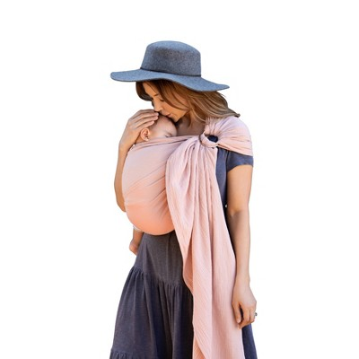 Moby Ring Sling - Double Gauze - Rose