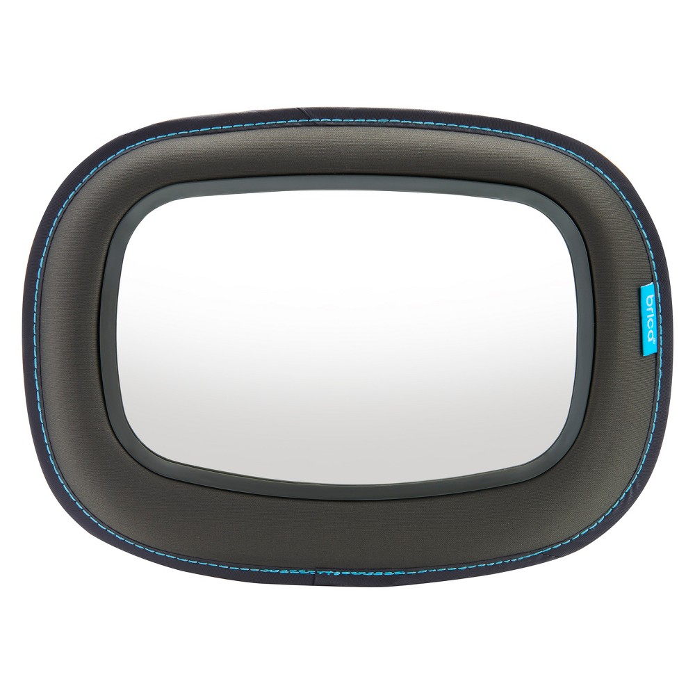 Image of Brica Baby In-Sight Soft-Touch Auto Mirror for in Car Safety - Gray