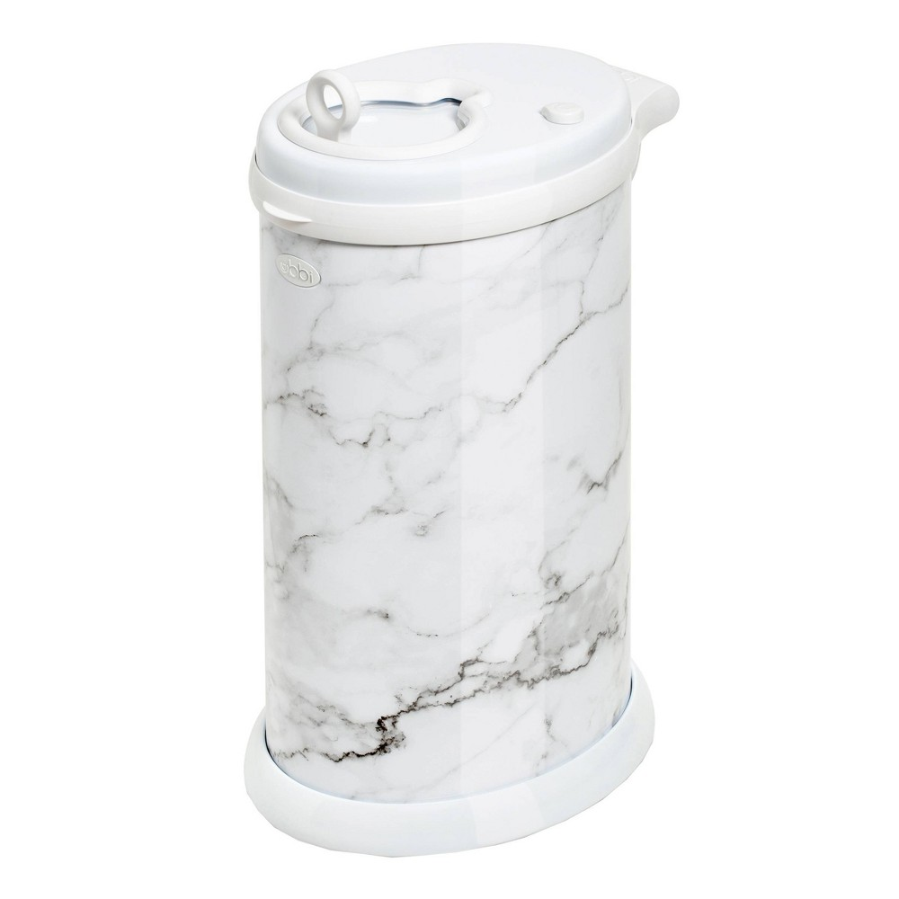 Image of Ubbi Steel Diaper Pail Marble
