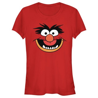 Junior's Disney Muppets Animal Costume Tee T-Shirt