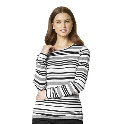 WonderWink Women's Vary Striped Tee