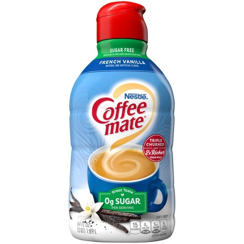 Coffee Mate Sugar Free French Vanilla Coffee Creamer - 0.5gal - image 1 of 4
