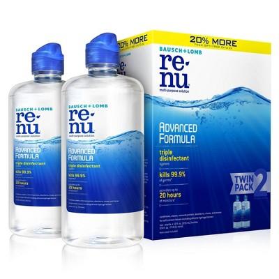 Renu Contact solution, Advanced Triple Disinfectant Formula