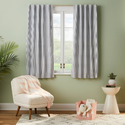 Blackout Irregular Mini Stripe Panel - Pillowfort™