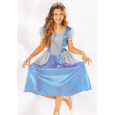 Northlight Blue Princess Girl Halloween Children's Costume - Ages 4-6 Years