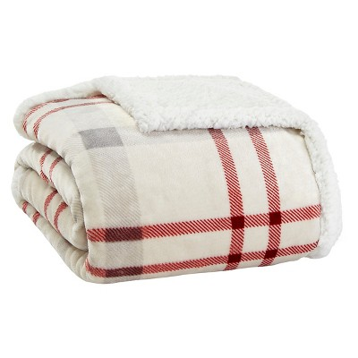 Newcastle Sherpa Throw Chrome - (50 x60 )- Eddie Bauer®