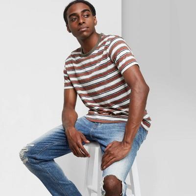 Men's Striped Short Sleeve T-Shirt - Original Use™