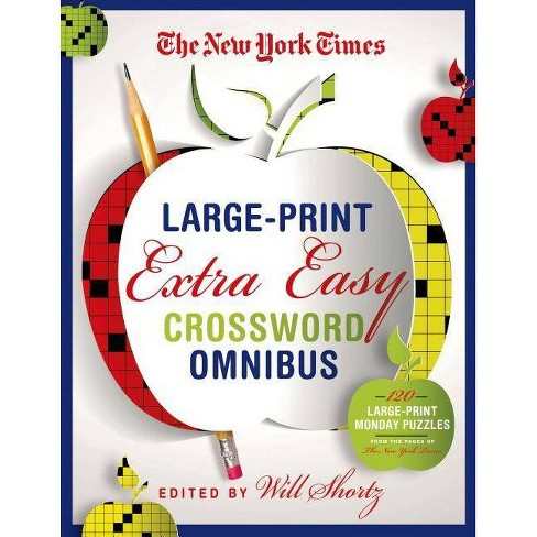 The New York Times Large-Print Extra Easy Crossword Puzzle Omnibus -  (Paperback)