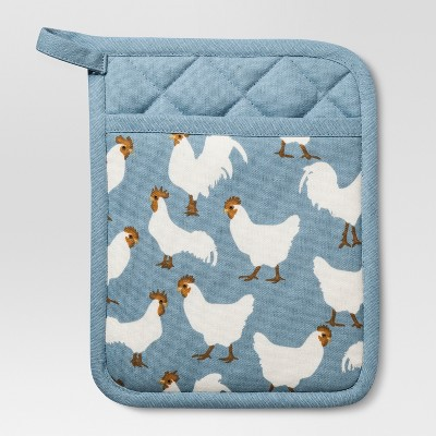 Blue Rooster Pot Holder - Threshold™