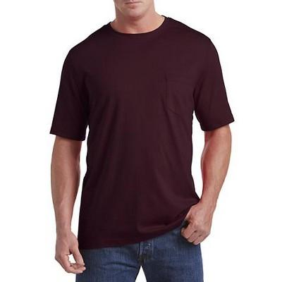 Harbor Bay Moisture-Wicking Pocket T-Shirt - Men's Big and Tall
