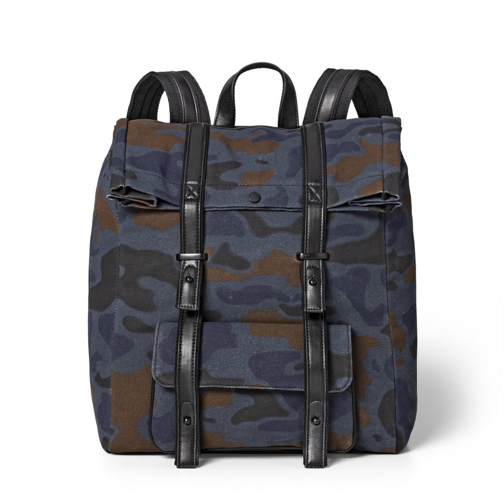 Camo Print Backpack – 3.1 Phillip Lim for Target Blue/Brown, Boy's, Size: Small, Gray