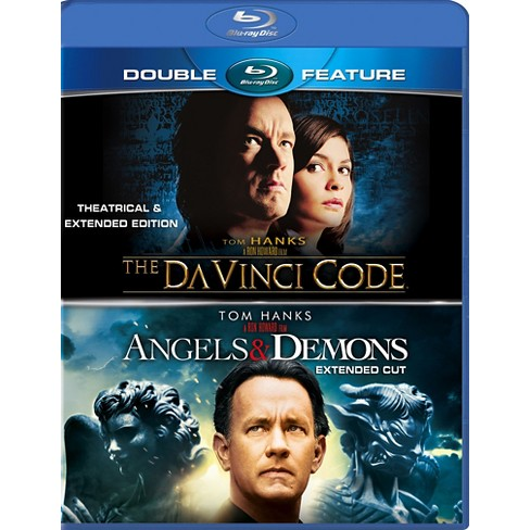 The Da Vinci Code Angels Demons Blu Ray 2 Discs Target