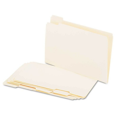 Universal® File Folders, 1/5 Cut Assorted, One-Ply Top Tab, Legal, 100 ct - image 1 of 1