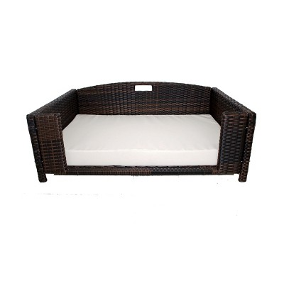 Iconic Beds for Dogs and Cats - Rattan Rectangular Sofa