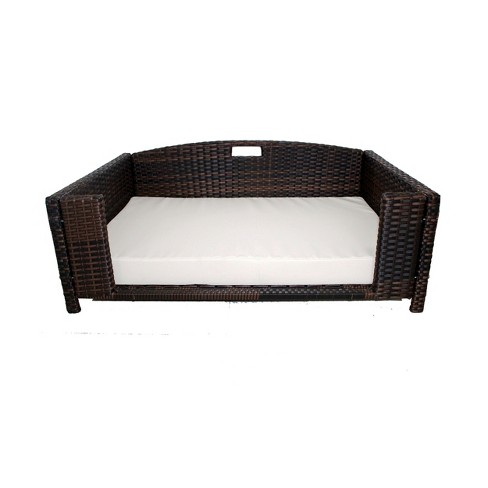 Iconic Beds for Dogs and Cats - Rattan Rectangular Sofa - image 1 of 4