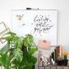 """U Brands 16""""x20"""" Magnetic Dry Erase Board Aluminum Frame - image 2 of 4"""