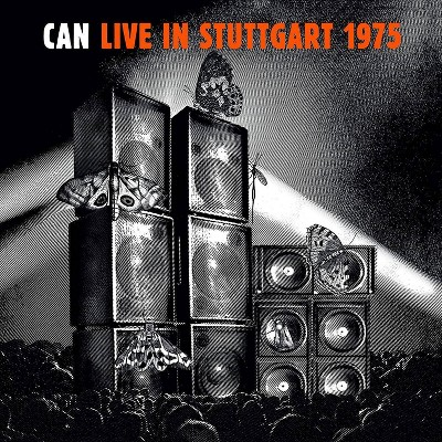 Can - Live In Stuttgare 1975  Ltd Ed Orange Vinyl