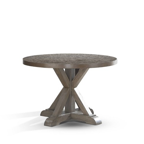 48 Molly Round Dining Table Gray, 48 Inch Round Kitchen Table