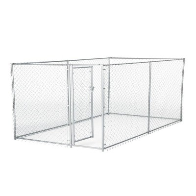 Lucky Dog 10' x 5' x 4' Heavy Duty Outdoor Chain Link Dog Kennel Enclosure