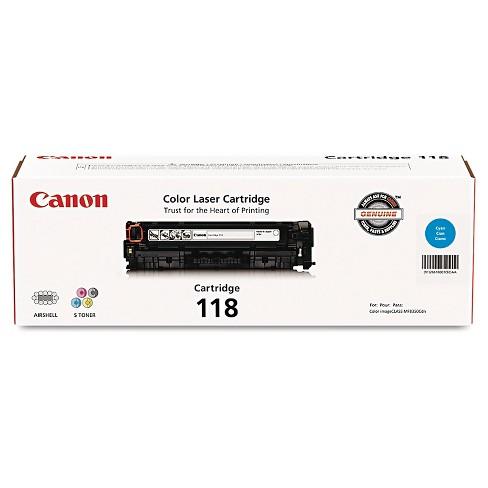 Canon® (118) Toner - Cyan (2661B001) - image 1 of 1