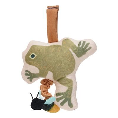 Manhattan Toy Firefly Frog Take Along Jiggle Toy