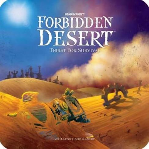 Forbidden Desert - Thirst for Survival Board Game - image 1 of 3