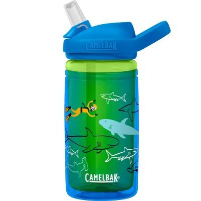 CamelBak Eddy+ 14oz Kids' Tritan Renew Water Bottle - Scuba Sharks