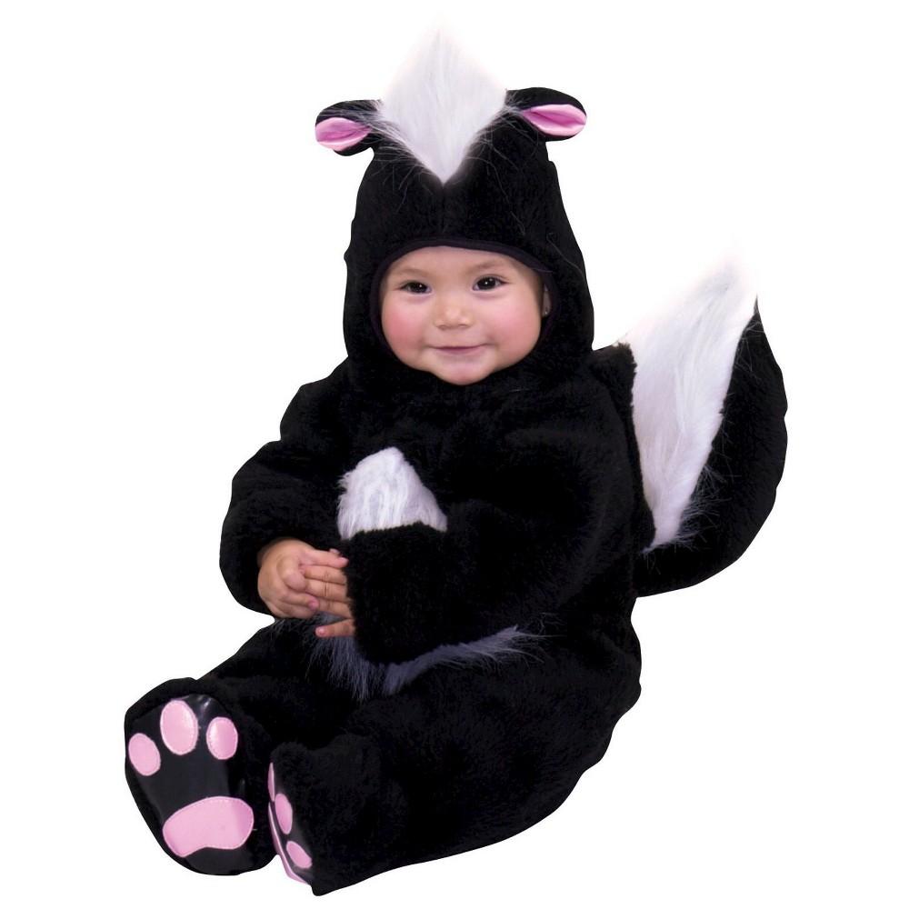 Skunk Baby Toddler Costume - 6-12 Months, Toddler Boy's, Size: 6-12M, Black