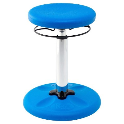 "Kore Adjustable Wobble Chair 16.5""--21.5"" - Primary Blue"