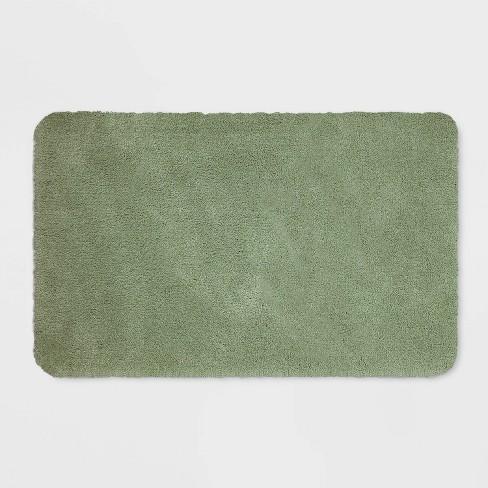23 X37 Performance Nylon Bath Rug Dark Sage Green Threshold Target
