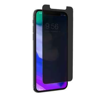 ZAGG Apple iPhone X Invisible Shield Glass Plus Privacy Screen Protector