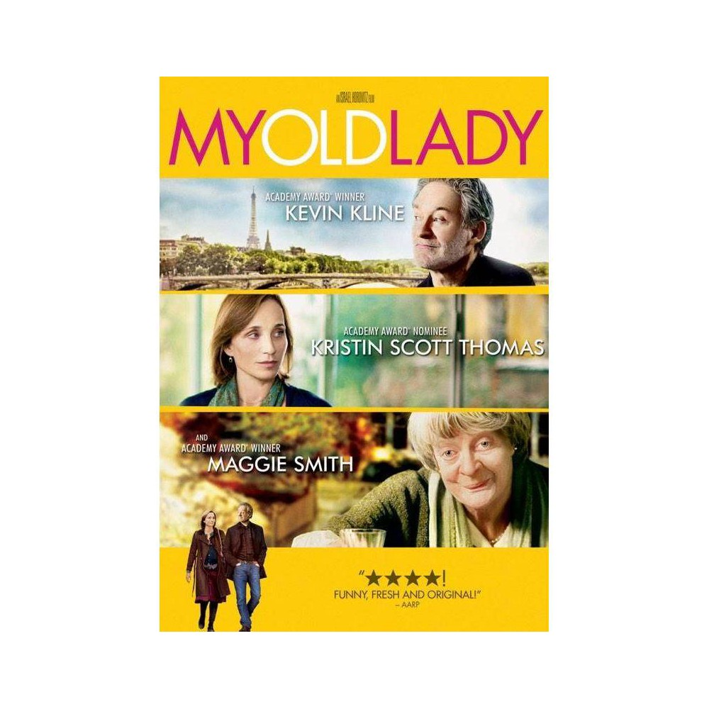 My Old Lady Dvd 2015