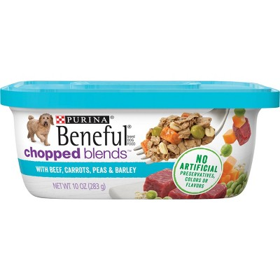Purina Beneful Prepared Meals Chopped Blends Wet Dog Food - 10oz